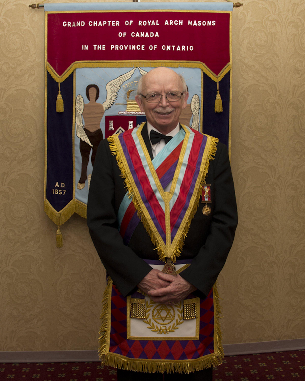 R. Ex. Comp. Larry H. Stewart - Grand Superintendent of District 7
